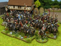 30 Years War miniatures in 15mm from Totentanz Caballería conjunto