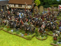 30 Years War miniatures in 15mm from Totentanz Ejército Católico