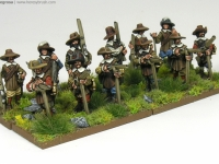 30 Years War miniatures in 15mm from Totentanz