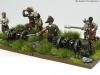 30 Years War miniatures in 15mm from Totentanz Artillería ligera
