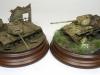 Panzer wrecks dioramas in 15mm