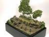 Normandy diorama in 15mm
