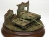 Wreck IS-2 tank in 15mm