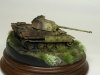 Panther wreck diorama in 15mm