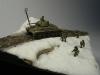 T-34 diorama in 15mm