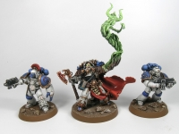 Horus Heresy Space Marines MK IV and librarian