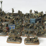 Videotutorial – Como pintar infantería británica (15mm) / How to paint British infantry