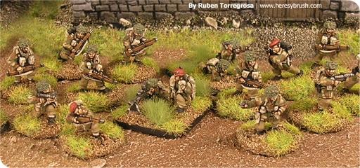 Allied paratroopera