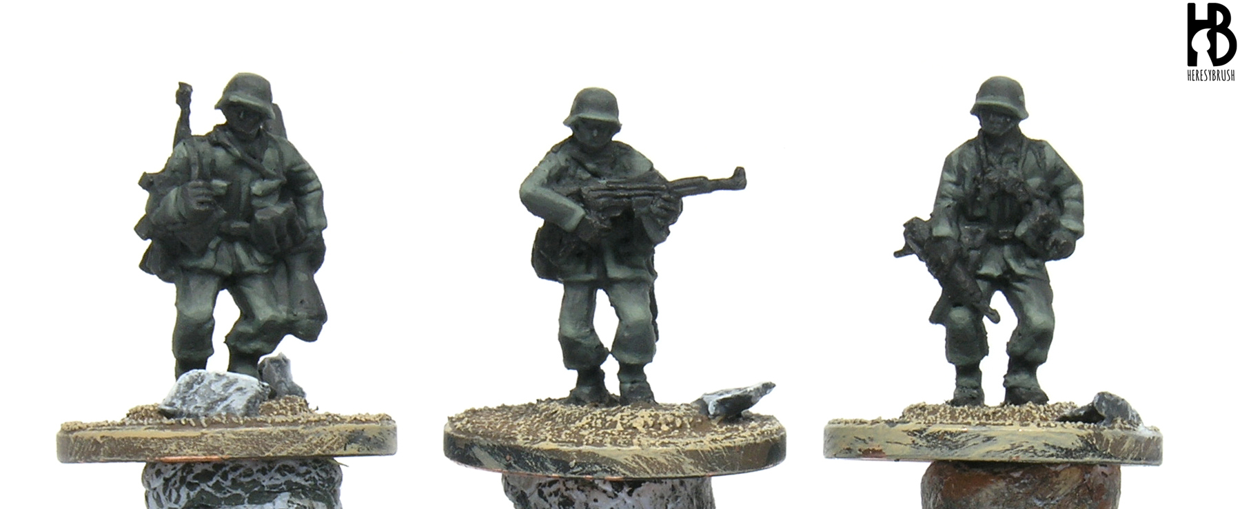 How to paint mid/late WWII Germans (1943) in 15mm – HeresyBrush