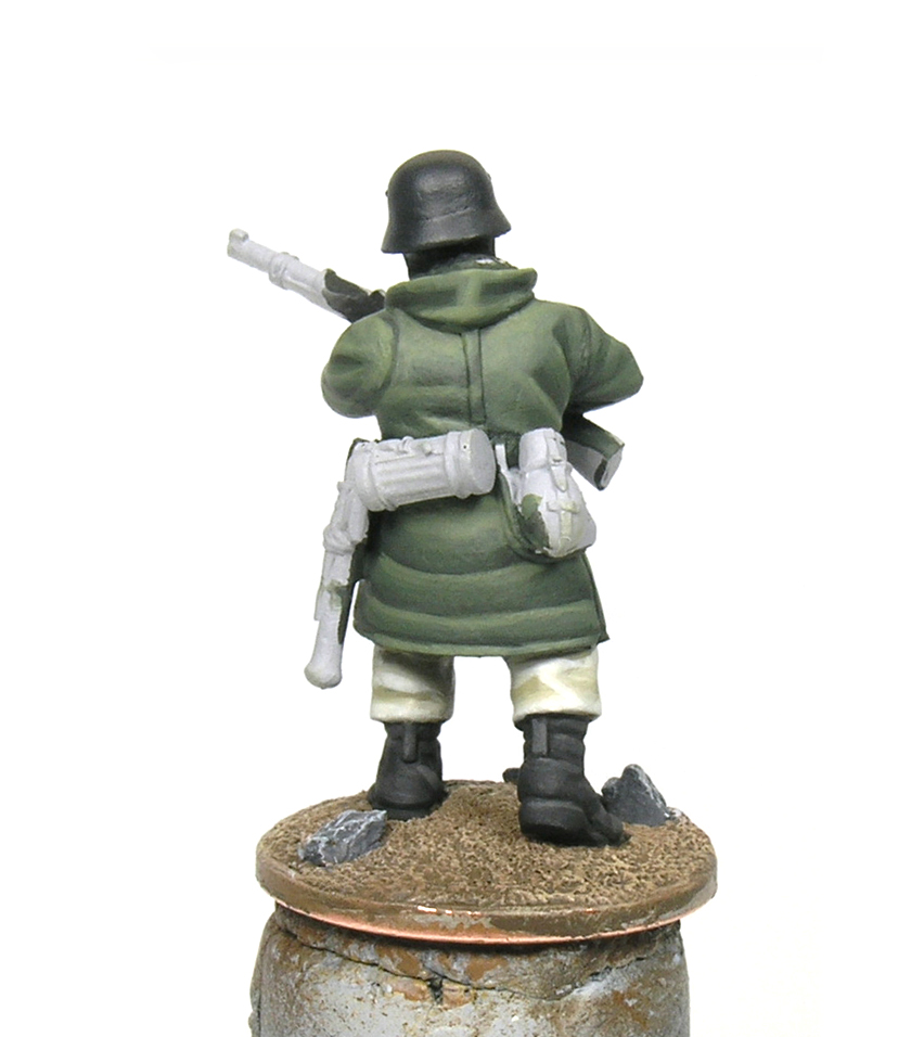 How to paint German soldiers in Kharkov parka - Bolt Action 28mm