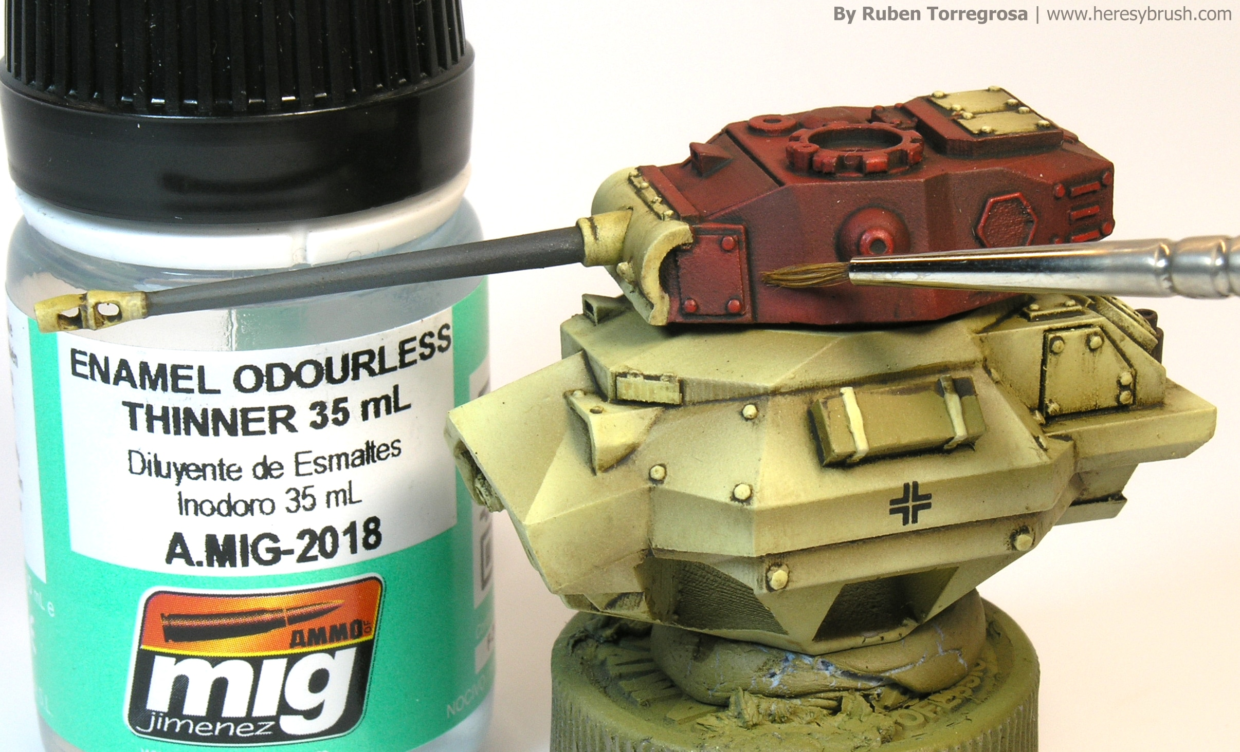 Painting guide 15mm