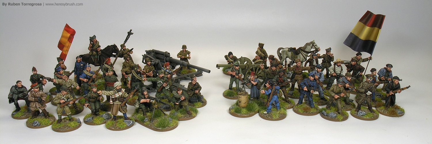 PaintingWar Spanish Civil War