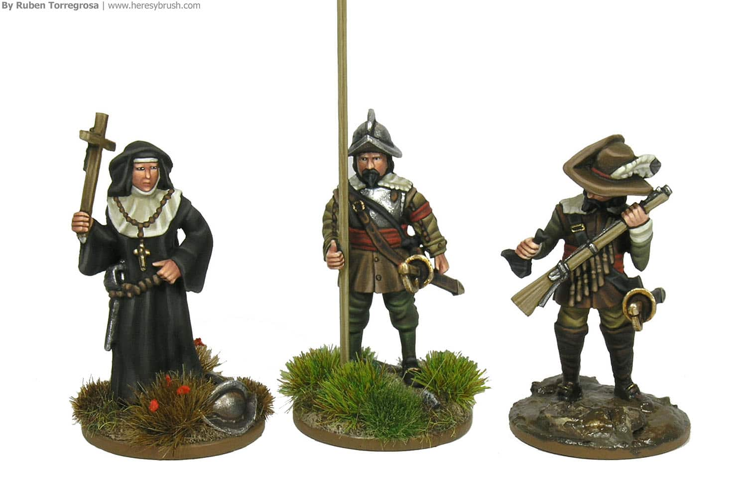 Como pintar Tercios españoles (28mm) - How to paint 28mm Spanish Tercios
