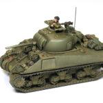 Come dipingere carri armati in 15mm: Sherman britannico;  E il nuovo libro: Painting Wargame Tanks