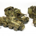 Como pintar vehículos del DAK – How to paint Afrika Korps vehicles