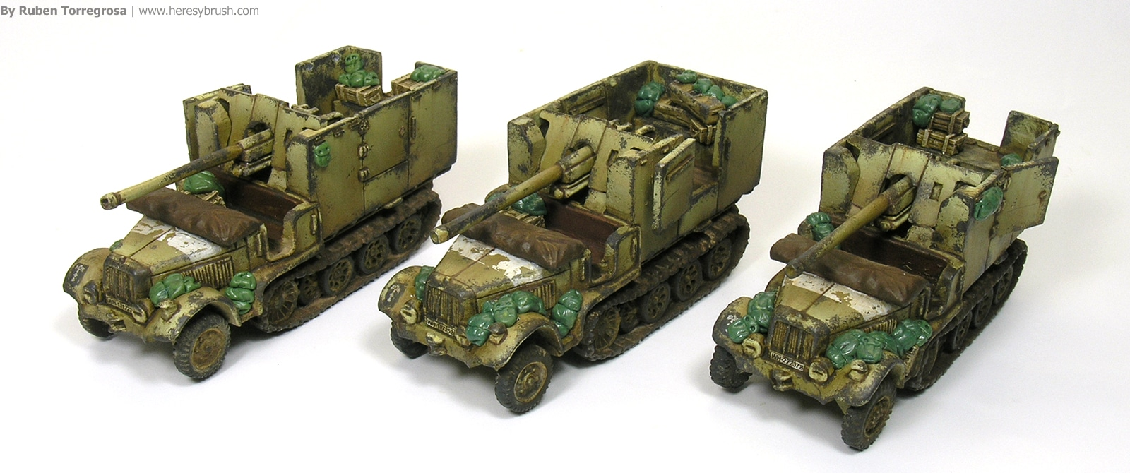 How to paint DAK (deutsche Afrika Korps) in 15mm for Flames of War