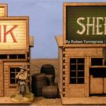 Como pintar casas del Lejano Oeste