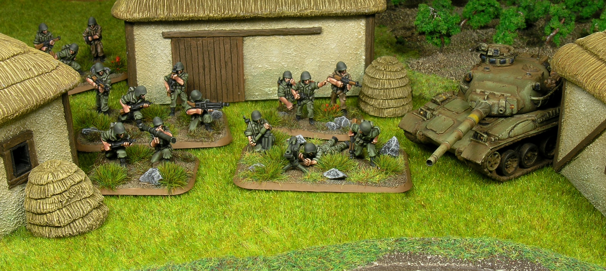 Spanish Army 15mm painting guide