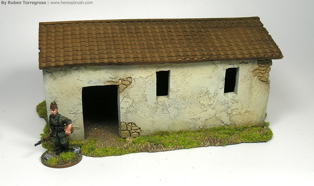 Spanish CIvil War miniatures in 28mm