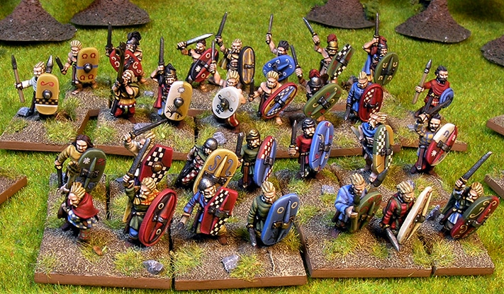 Gauls forged in battle