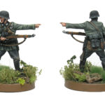 How to paint early war German soldiers in 28 mm