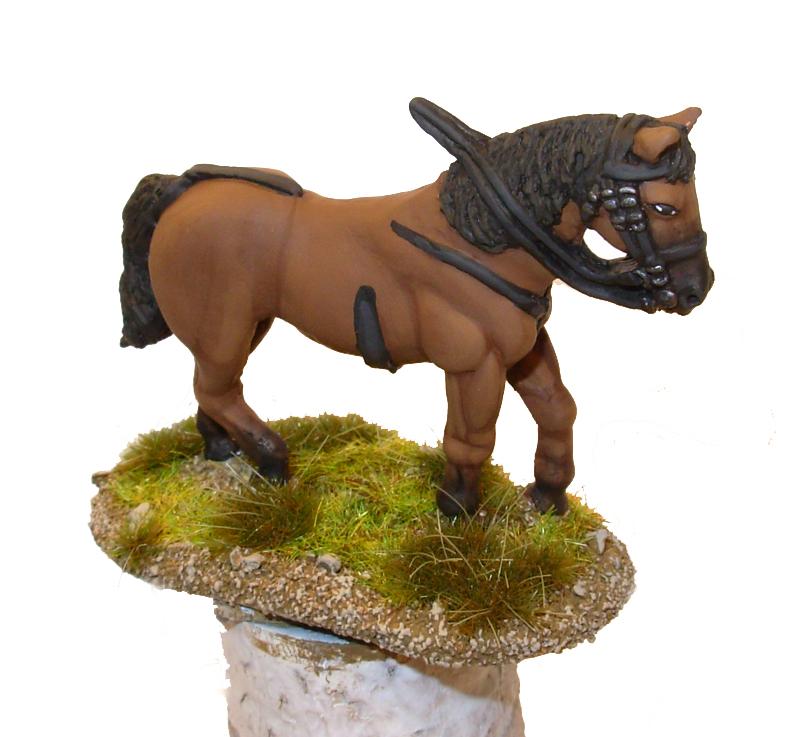Como pintar caballos