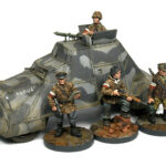 How to paint the WWII Polish Kubuś armoured car