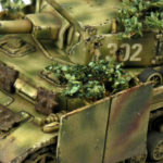 How to make foliage camouflage for 15mm tanks