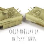 Modulación (color modulation) en 15mm