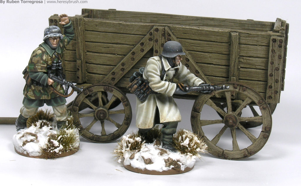 Painting guide - How to paint WWII Germans in winter gear