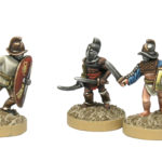 How to paint gladiators in 15mm, and different human skin colors