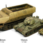 How to paint 12mm (1:144) WWII tanks