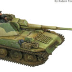 Pintando tanques en 15mm: tanque Steyr – Painting 15mm tanks: Steyr tank