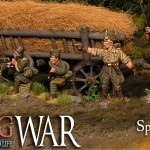 Spanish Civil War – How to paint a Spanish rural house