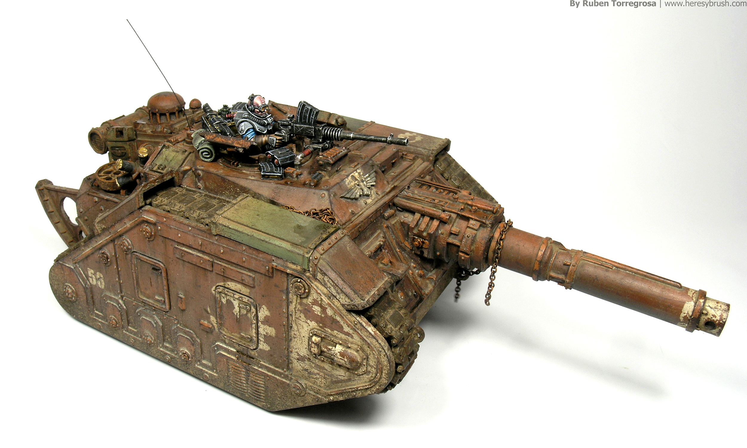 How to paint Warhammer 40.000 tanks II