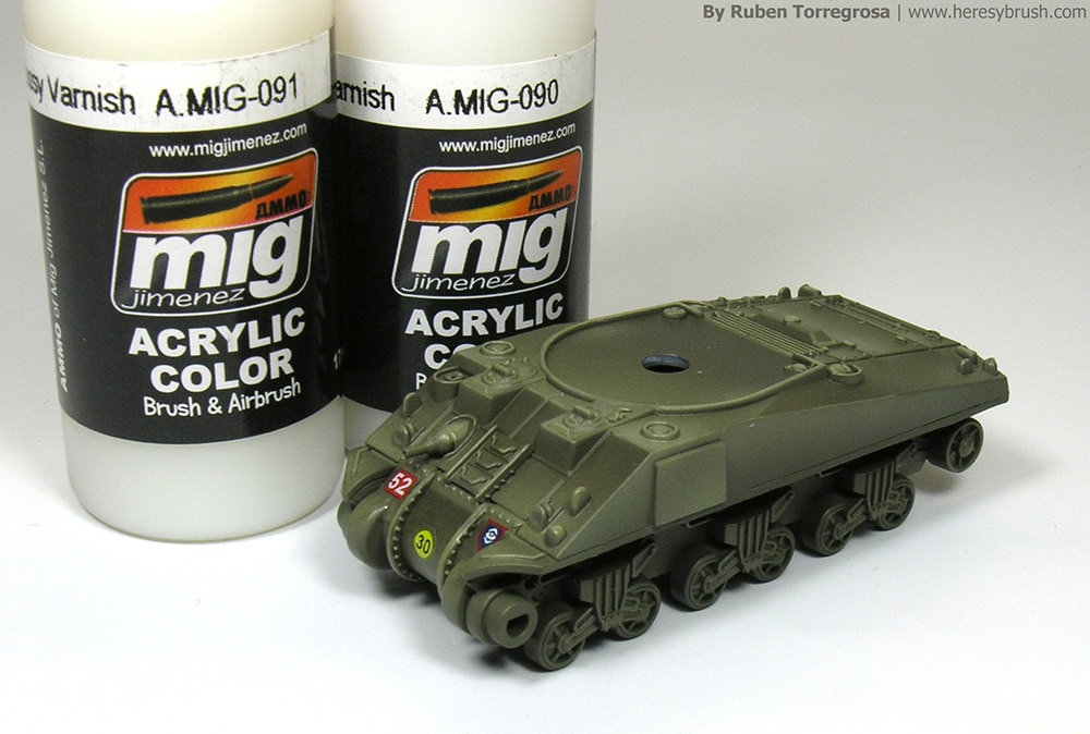 How to paint a British Sherman tank, and a new book: Painting
