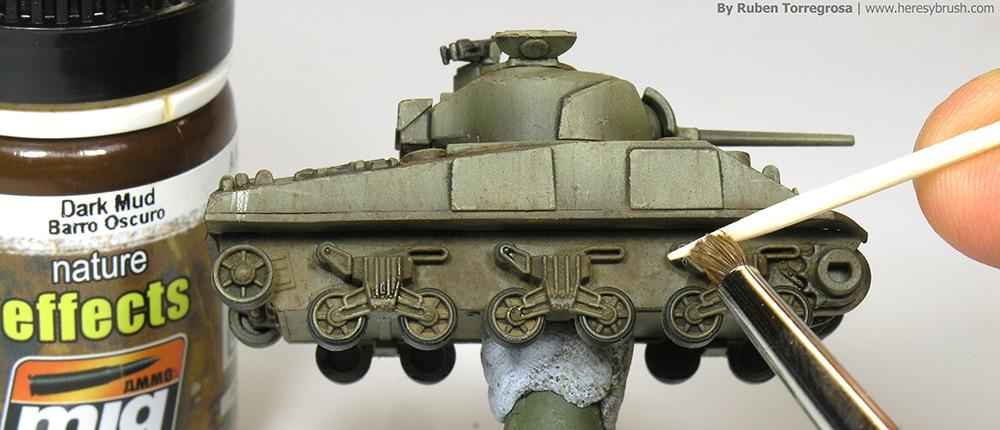 Painting Wargames Tanks
