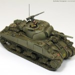 How to paint a British Sherman tank, and a new book: Painting Wargame Tanks
