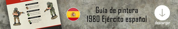 Como pintar el ejército español de 1980 - How to paint the 1980 Spanish army