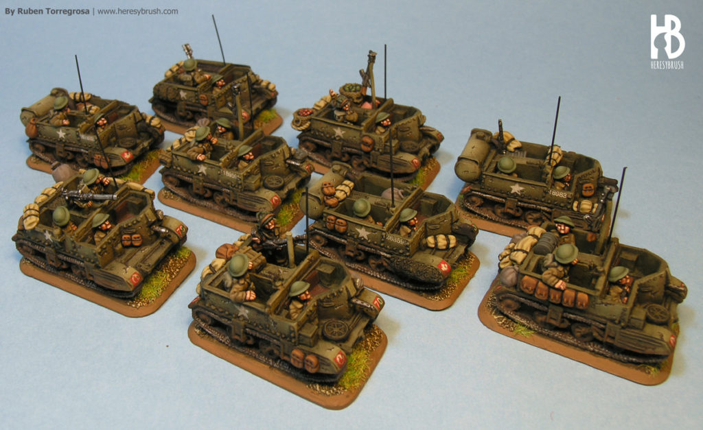 Bren Carrier Flames of War