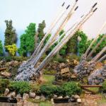 Marcadores de lanzacohetes para Flames of War