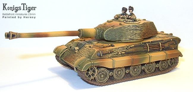 kingtiger flames of war