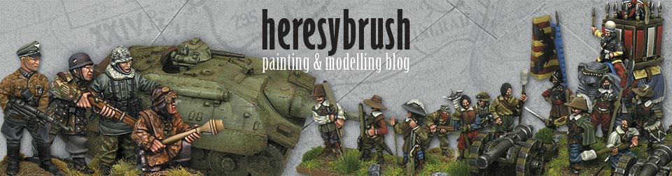 Heresybrush, blog sobre modelismo para wargames y aerografía. Rubén Torregrosa